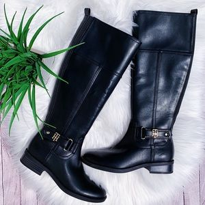 Tommy Hilfiger Knee High Ridin Boots NEW $115